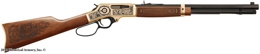 Houston Fire Department Limited Edition Rifle HFD Commemorative Rifle